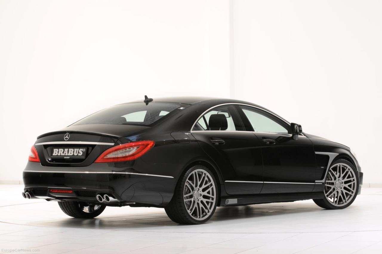 2011 mercedes cls tuning package by brabus. Black Bedroom Furniture Sets. Home Design Ideas