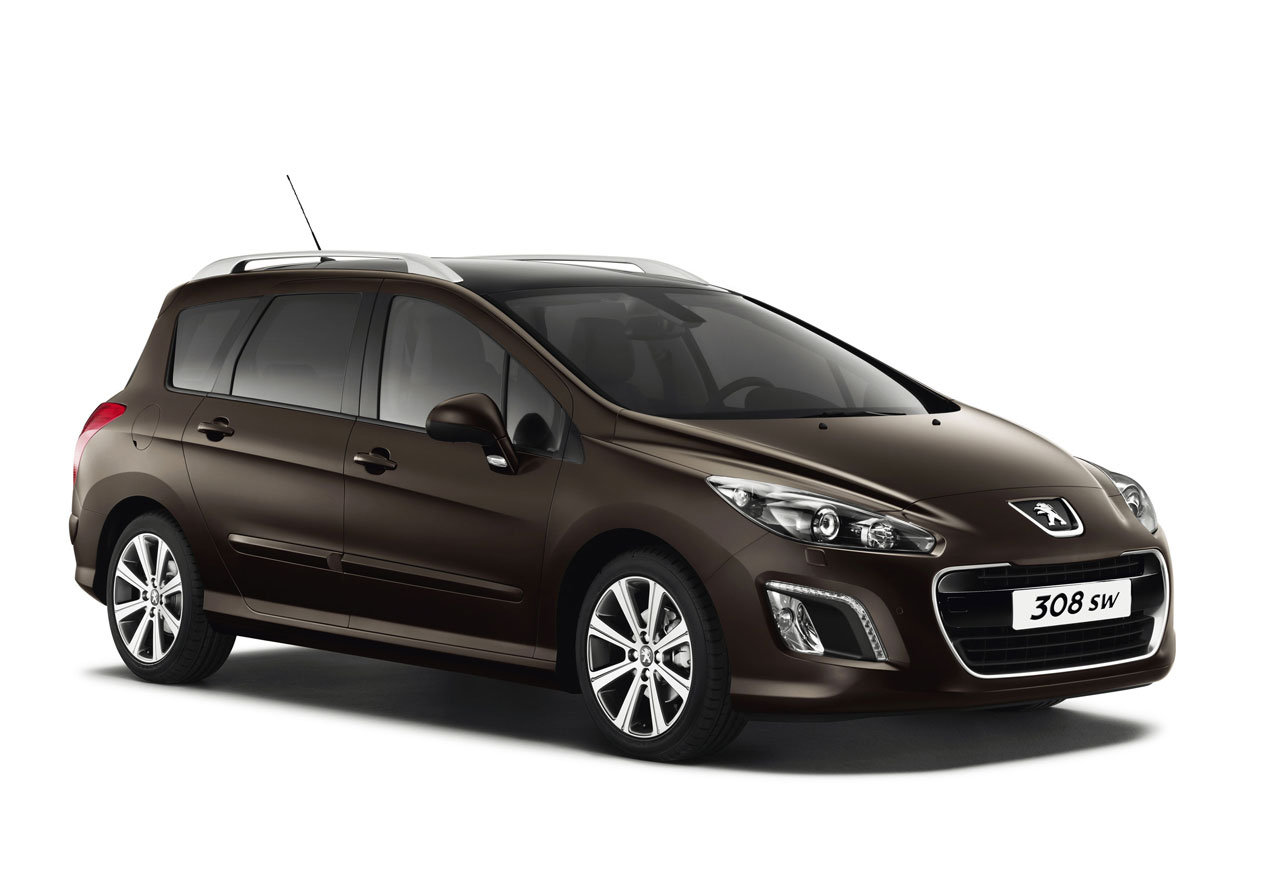 2012 peugeot 308 gets front facelift. Black Bedroom Furniture Sets. Home Design Ideas