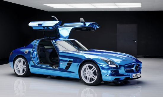 Mercedes-Benz-SLS-AMG-electric-drive