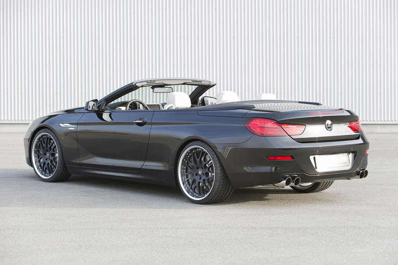 hamann unveils the tuning program for new bmw 6 series convertible. Black Bedroom Furniture Sets. Home Design Ideas