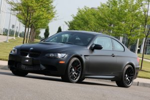 bmw m3 coupe frozen black edition