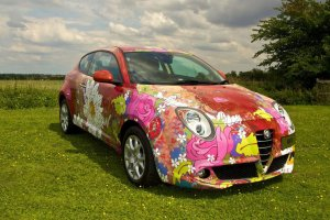 alfa romeo mito by louise dear