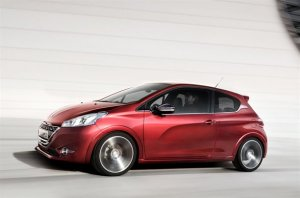 Thumbnail image for Peugeot 208 GTi Concept to prefigure the 3 door sports version