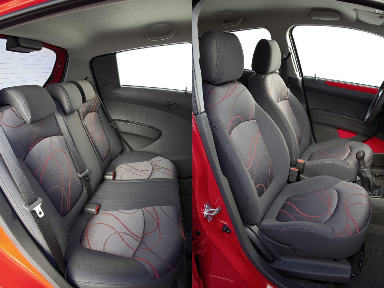 CHEVROLET SPARK 1.2 LT reasonable interior space against ...