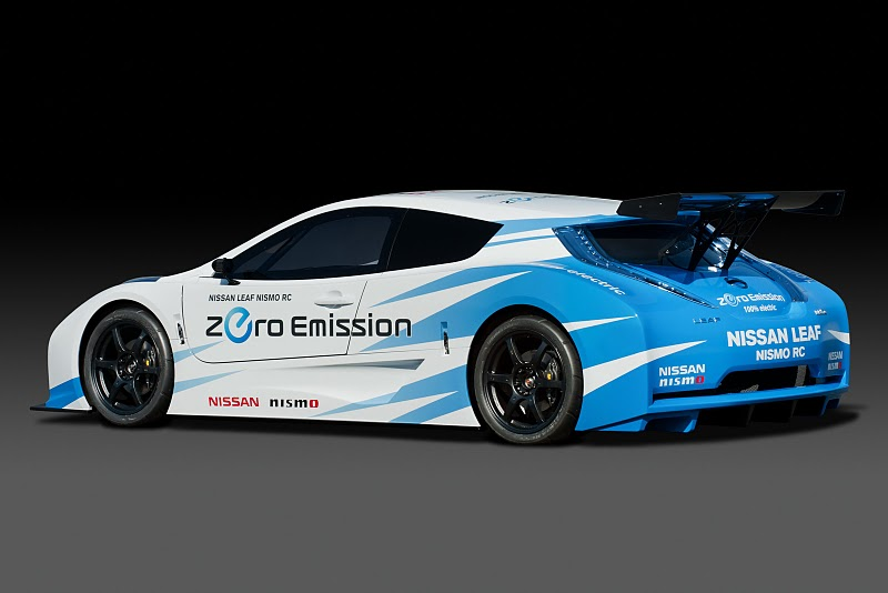 Nissan Leaf Nismo Rc A Racing Electric Car