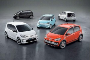 volkswagen up! small family concept