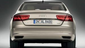 New Audi A8 L model year 2011