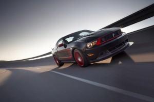 Photo Ford Mustang Boss 302 Laguna Seca