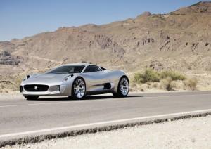 Official picture Jaguar C-X75 Concept