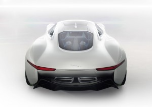 Official picture Jaguar C-X75 Concept