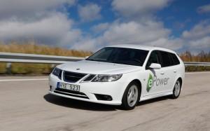 Image Saab 9-3 ePower Concept EV