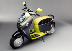 picture mini scooter e concept