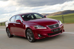 official photo 2011 Lexus IS 350 F-Sport