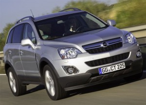 official piicture 2011 opel antara facelift