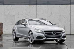 official photo 2012 mercedes CLS shooting brake
