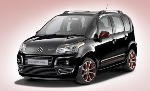 official picture citroen c3 picasso blackcherry