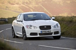 official photo jaguar xf black pack