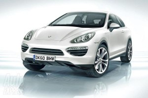 official picture porsche Cajun