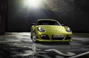 official photo porsche cayman R