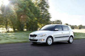 official picture skoda fabia greenline