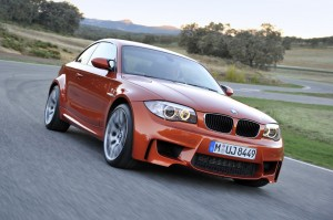 official picture bmw serie-1 m coupe